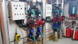 Industrial boiler upgrade