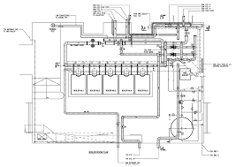 CAD image of a heating system design