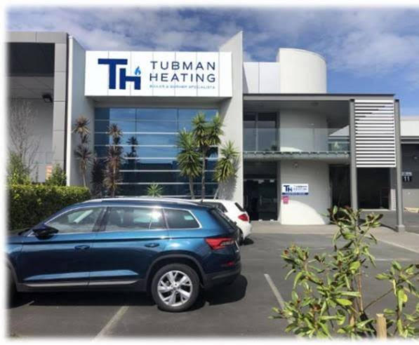 Tubman Heating Auckland branch at 11 Carnaveral Drive Rosedale