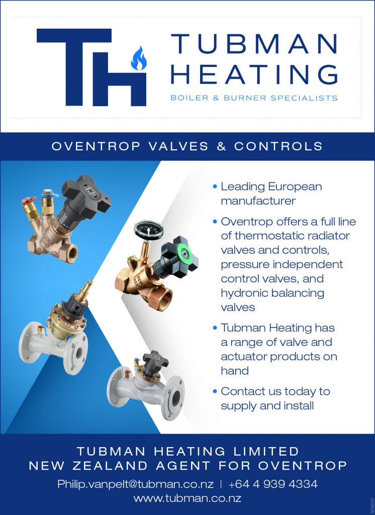Oventrop products for heating systems NZ