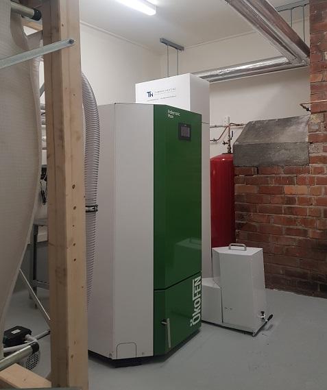 Boiler Room After Refurb