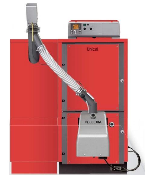 unical pellexia 27_40kW boiler
