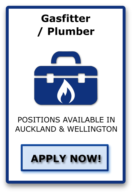 gasfitter / Plumber Apply Now