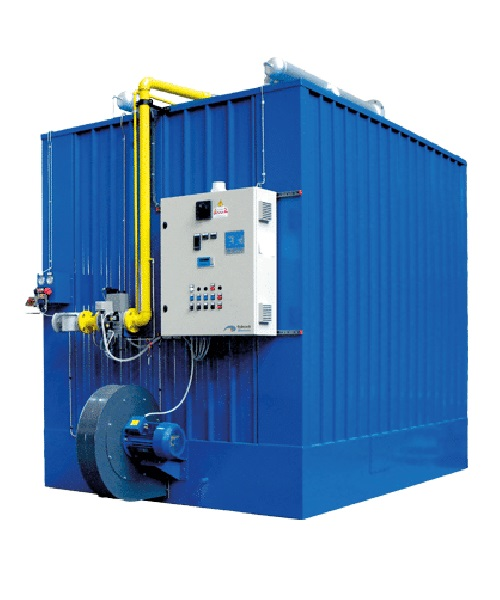 Babcock wanson EPC ES Series thermal oil heater