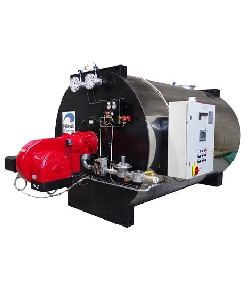 Babcock Wanson TPC LN Series thermal oil heater