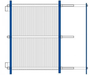 heat exchanger plate gasketed